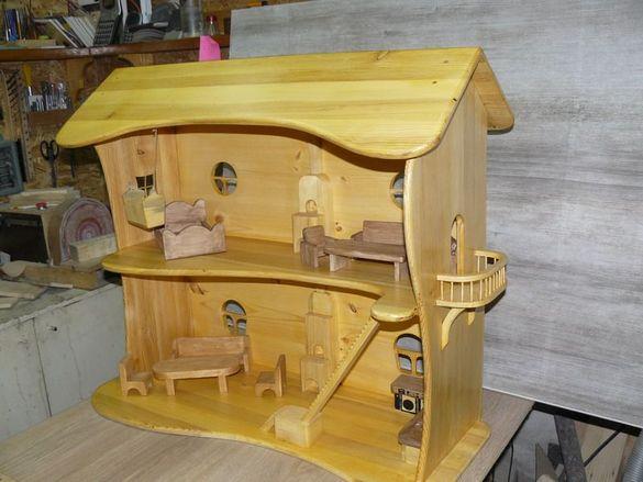 Екологични детски дървени играчки