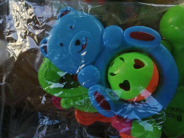 Пакет детских погремушек внутри 5 штук