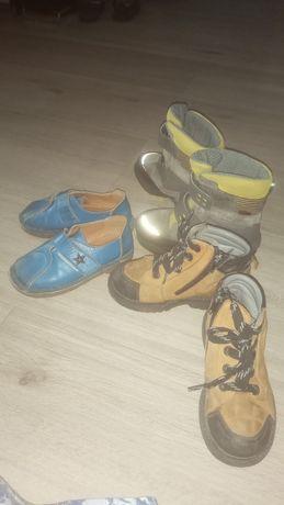 Кожанная обувь 27 р