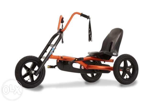 Kart cart cu pedale Berg CHOPPY pentru copii.