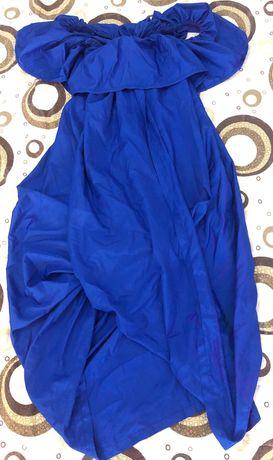 Синя рокля M за всеки случай- веднъж е обличана