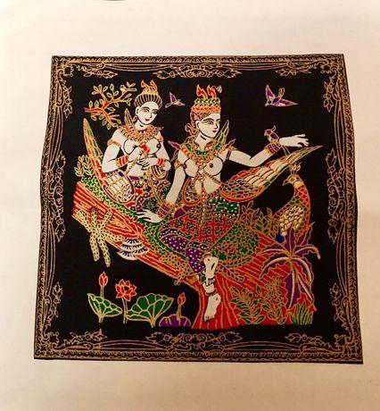 Индийска ръчна рисувана картина