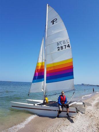Catamaran Prindle 18