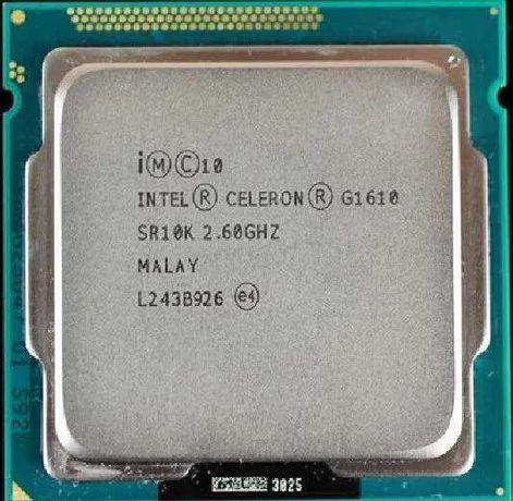 Procesor Intel socket 1155 Celeron G1610 ieftin, pasta cadou