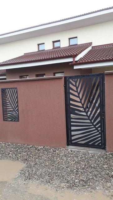 Porti ,balustrade,garduri debitate cu plasmă