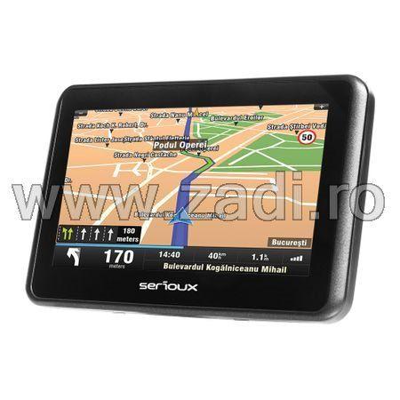 """GPS-uri serioux /ecran 5""""-4 programe instalate - dedicate auto-camion"""