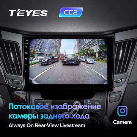 Штатная магнитола Hyundai Sonata YF TEYES CC3 / SPRO PLUS