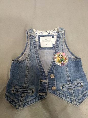 Стильный джинсовый жилетик H&M из Германии
