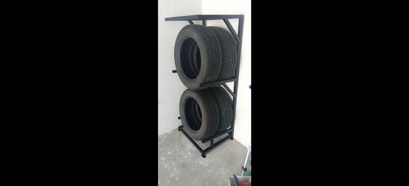 Практична стойка за гуми