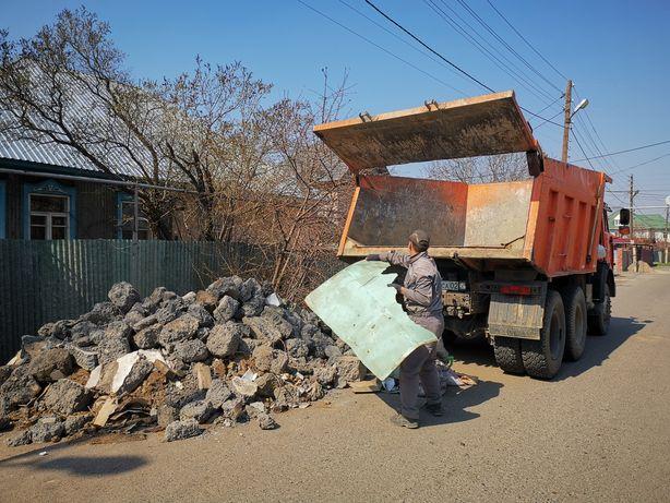 Вывоз мусора Камаз 15тонн