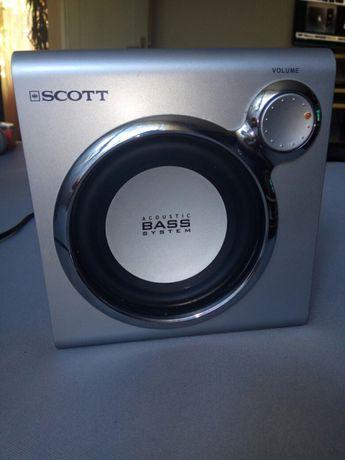 Tub de bass activ Scott