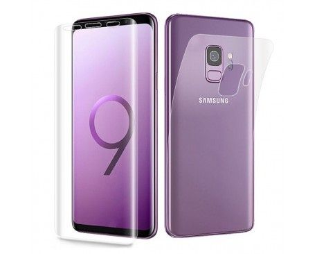 Folie ANTISOC silicon Fata+Spate Samsung S9,S9 Plus,