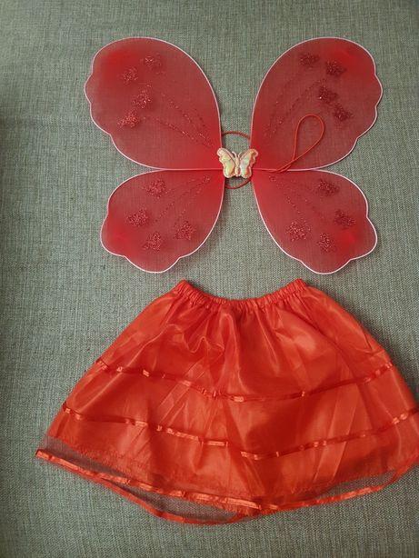 Продам ободок, крылышки и юбочку на девочку 2-3 годика