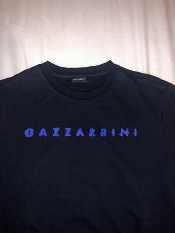 Tricou Bluza maneca lunga Gazzarrini mar L,nou