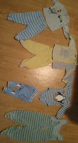 Лот екипчета/комплекти за бебче 3-6 месеца