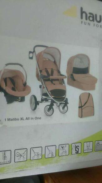 Бебешка комбинирана количка Hauck Malibu XL