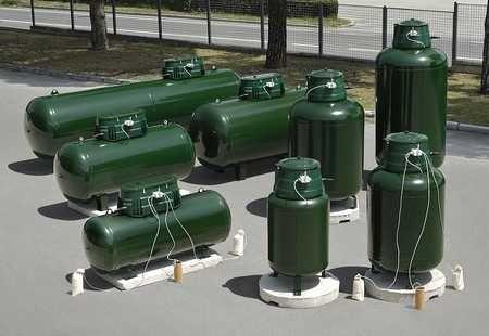 Bazin GPL vertical 1650L/bazine gpl rezervoare propan butelii gaz
