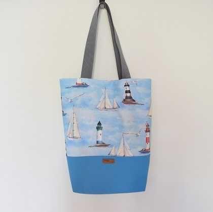 Чанта тип торба с подплата, ръчна изработка