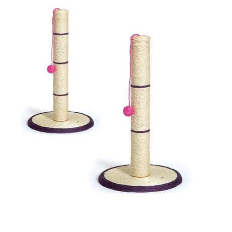 Драскало / чесало за котесъс стойка и играчка топче