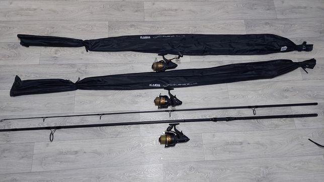 Карповые удилища KAIDA FURYA 3.9 m 3.5 lbs