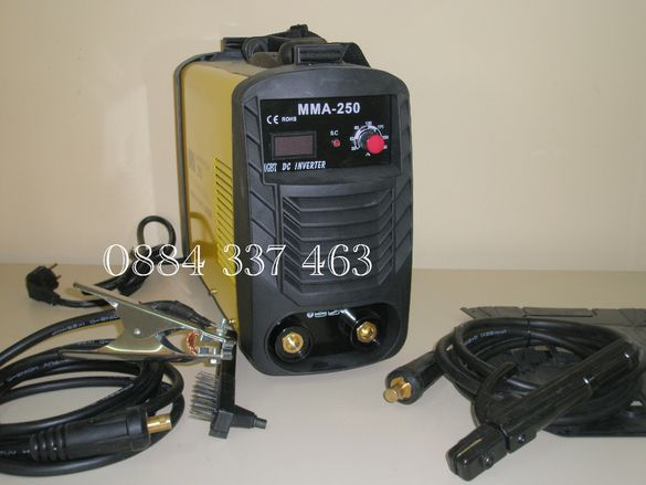 Инверторен електрожен ММА 250 А и соларни маски 50