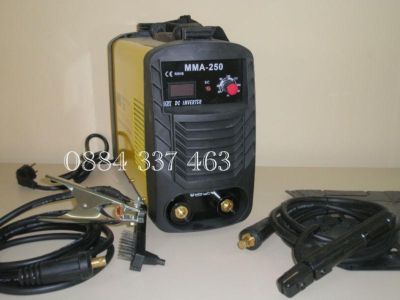 Инверторен електрожен ММА 250 А и соларни маски 50 гр. Хасково - image 1