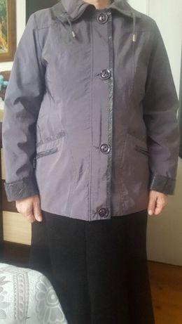 Дамско яке, пепелно лилаво на цвят