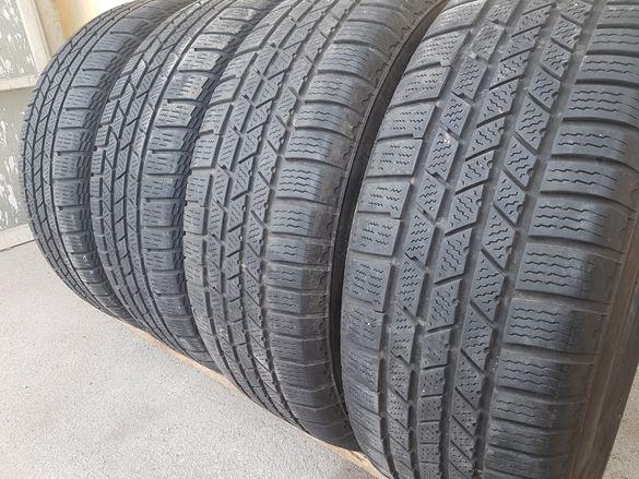 4 бр. зимни гуми 225/60/17 Continental 2×5-6 mm 2x4,8-5,5 mm DOT 4611