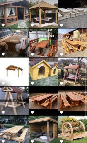 Leagăne din lemn