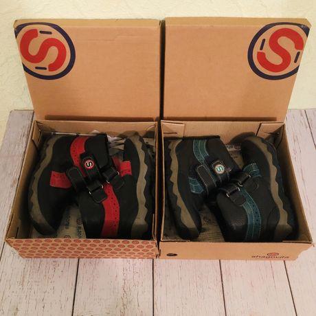 Осенние кожаные ботинки Shagovita, размер 26