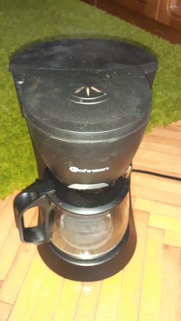 Cafetiera Rohnson R924, 680W, Vas de sticla 1.2L, Negru