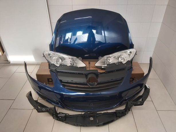 Pachet Fata Completa Cu Bara Opel Corsa D 2006-2011 (Z21B (Albastru))
