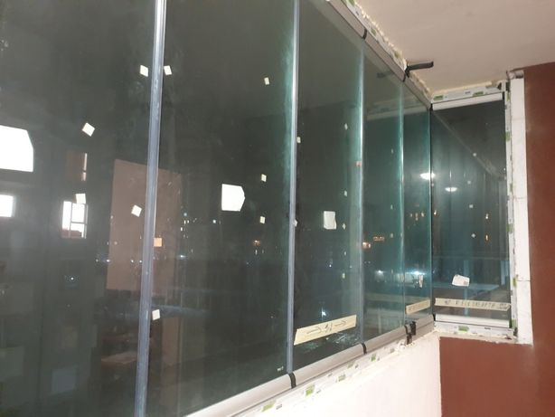 Terase balcon foisor inchis cu sticla