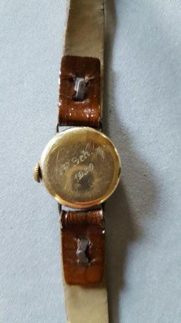 Ceas de damă vechi placat cu aur Unicat
