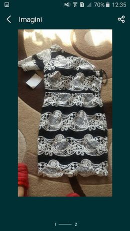 Rochie noua cu eticheta.