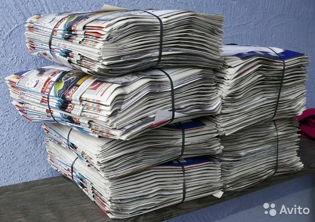 Газета продаю 300тг кг