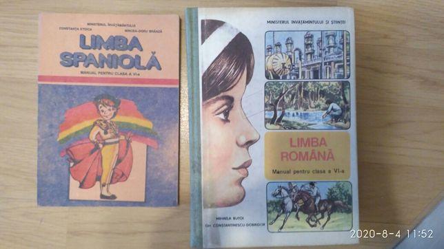 Manuale vechi din perioada comunista