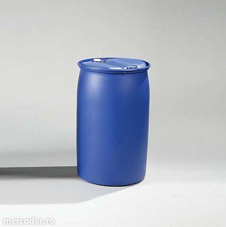 Vand butoi plastic de 220l cu 2 doupuri filetate și butoaie tabla