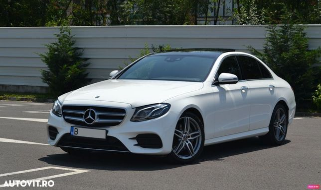 Mercedes-Benz E E 220 4matic AMG Paket int + ext / LED+ / Pano / Burmester / Plasma