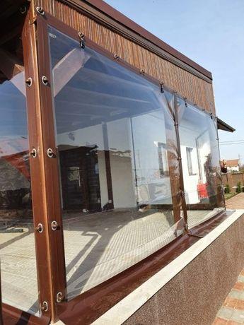 Inchidem terasa , foisor , balcon cu Folie Pvc Transparenta 0.8