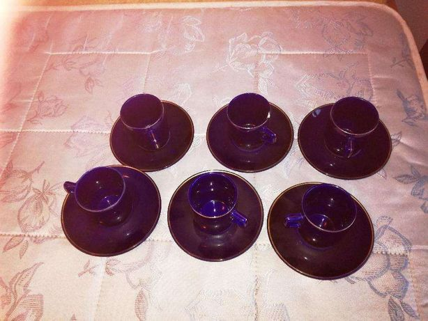 Set ceai cobalt
