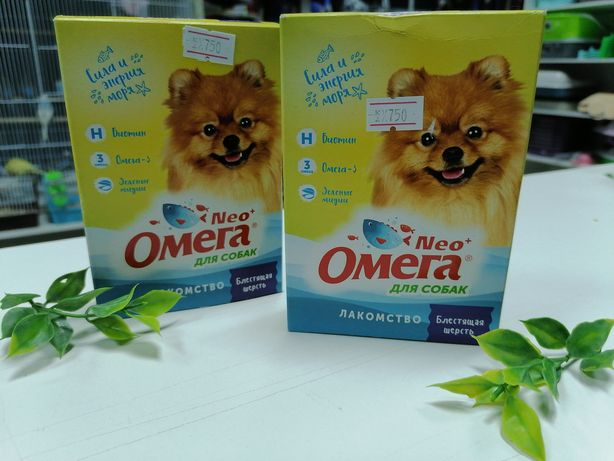 Лакомства Neo Omega для собак