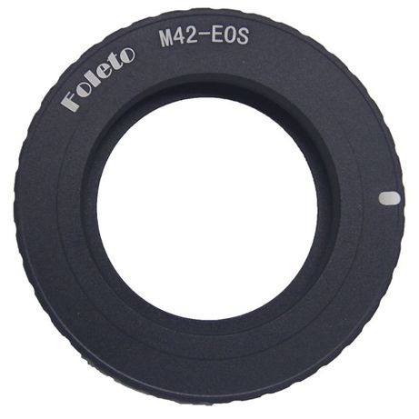 Inel adaptor M42 la Canon Eos Cu Confirmare Focus 100D 1100D 1200D