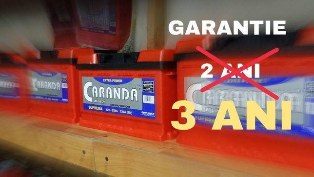 Acumulatori auto Caranda Suprema - 3 ani garantie !