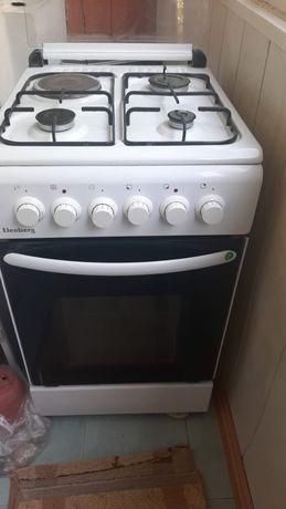 Газовая и электрическая плита 2в1