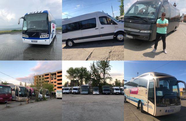 Transport persoane - curse ocazionale si conventie