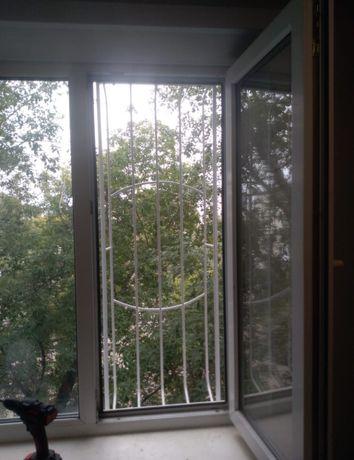 Решетки на окна и балконы, защита для детей