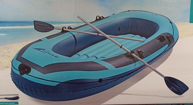 Barca gonflabila de 3 persoane. (NOUĂ) + CADOU !