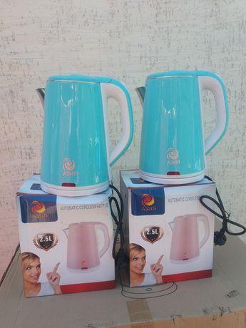 Электрический чайник Азия 2,5 литра новые в упаковке