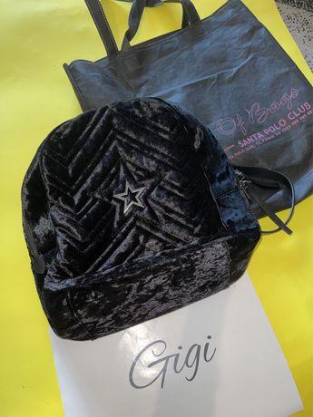 House of bags - чисто нова, черна раница без забележки